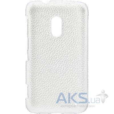 Чехол Melkco Snap leather cover for Nokia Lumia 620 White (NKLU62LOLT1WELC)