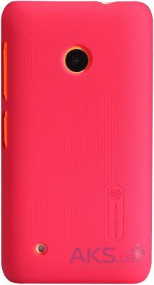 Чехол Nillkin Super Frosted Shield Nokia Lumia 530 Red