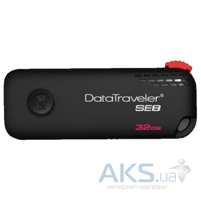 Флешка Kingston 32Gb DataTraveler SE8 limited edition USB3.0 (KC-U6332-3Y) Black