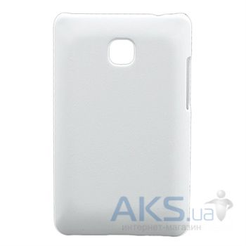 Чехол Plastic cover case for LG E435 L3 II White