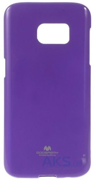 Чехол Mercury Jelly Color Series Samsung G930 Galaxy S7 Violet