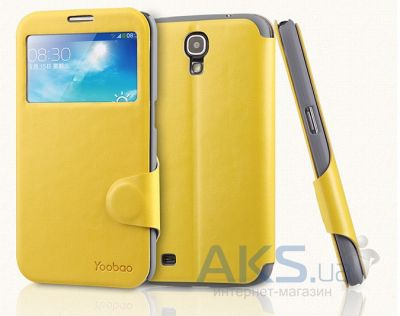 Чехол Yoobao Fashion leather case for Samsung i9200 Galaxy Mega 6,3 Yellow (LCSAMI9200-FYL)