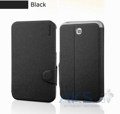 Чехол для планшета Yoobao Fashion leather case for Samsung T210/211 Galaxy Tab 3 7.0 Black (LCSAMP3200-FBK)