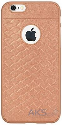 Чехол Rock Pattern Series Apple iPhone 6, iPhone 6S Gold
