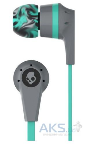 Наушники Skullcandy INK'D 2.0 Mint/Gray (S2IKJY-528)