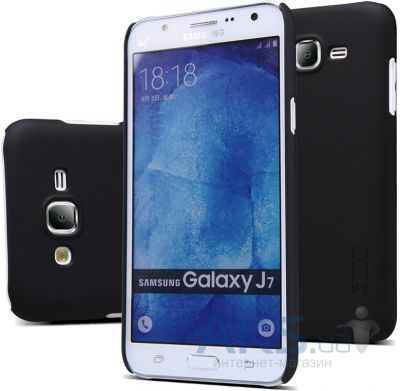 Чехол Nillkin Super Frosted Shield Samsung J700 Galaxy J7 Black