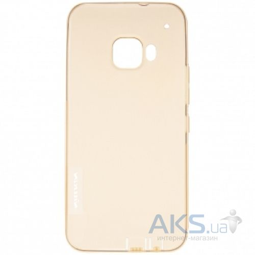 Чехол Nillkin Nature Series HTC One M9 Plus Transparent Gold
