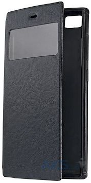 Чехол Book Cover with Window Lenovo A328 Black