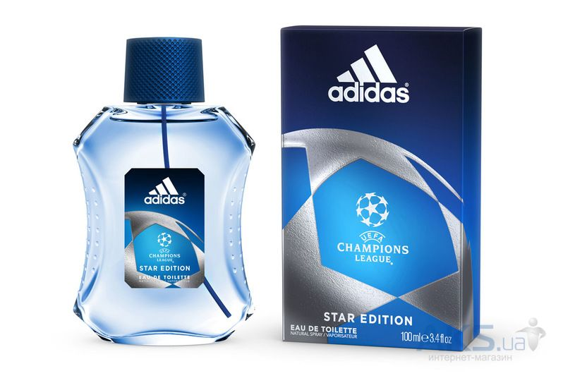 Adidas UEFA Champions League Star Edition Туалетная вода 100 ml