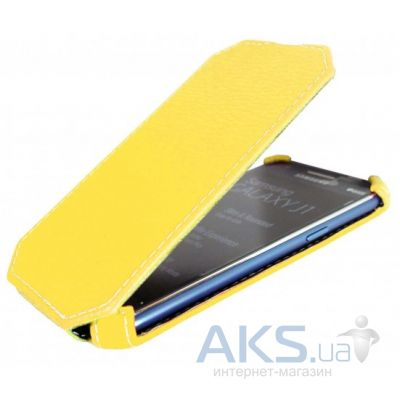 Чехол Armor flip case LG Spirit Y70 H422 Yellow