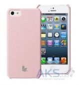 Чехол JisonCase Fashion Wallet Case for iPhone 5/5S Pink (JS-IP5-01H35)