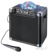 Колонки акустические Trust Fiesta Disco Wireless Bluetooth Speaker with party lights Black