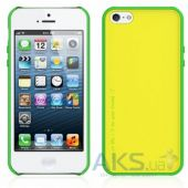 Вид 4 - Чехол Araree AMY Apple iPhone 5, iPhone 5S, iPhone SE Lemon Zest+White