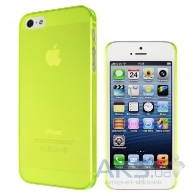 Вид 2 - Чехол Artwizz for iPhone 5 SeeJacket Clip Light NEON (AZ0609NY) Yellow