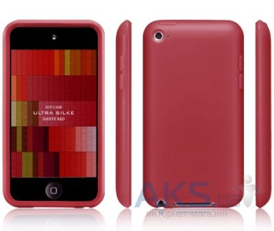 Чехoл SGP Ultra Silke Case Dante Red for iPod touch 4G
