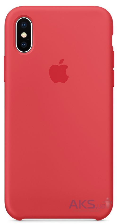 Чехол Apple Silicone Case iPhone XR Red Raspberry (HC)