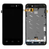 Дисплей (экраны) для телефона Prestigio MultiPhone 5400 Duo + Touchscreen with frame Original Black