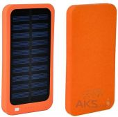 Внешний аккумулятор power bank MANGO Solar SLIM 1USB 6000 mAh Orange