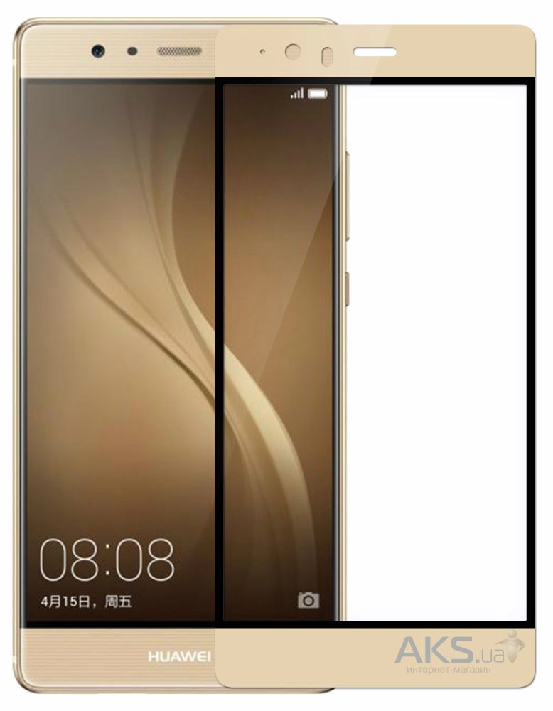 Защитное стекло Tempered Glass 3D Full Cover Huawei Ascend P9 Gold