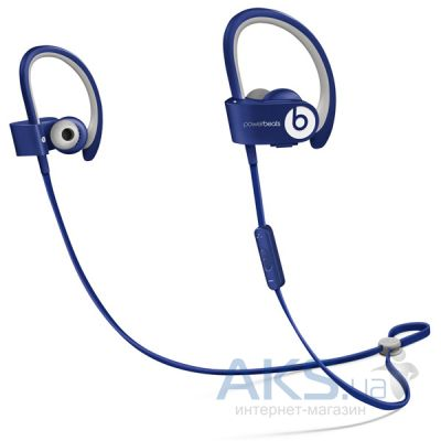 Наушники (гарнитура) Beats PowerBEATS 2 Wireless Blue (MHBV2ZM/A)