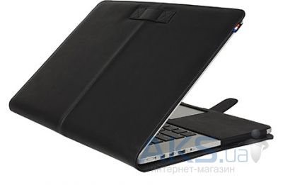 Чехол Decoded Leather Slim Cover for MacBook Pro Retina 13 Black (D4MPR13SC1BK)