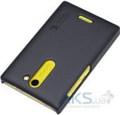 Вид 3 - Чехол Nillkin Super Frosted Shield Nokia Asha 502 Black