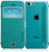 Чехол Momax Flip View case for iPhone 5C Green