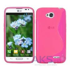 Чехол Celebrity TPU cover case for LG L70 Pink