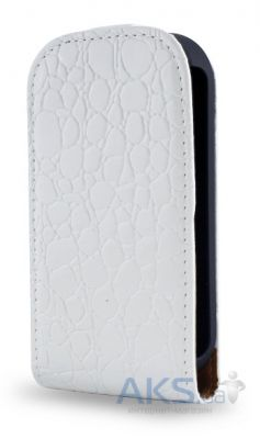 Чехол Atlanta Book case for  Samsung S5312 White (K35)