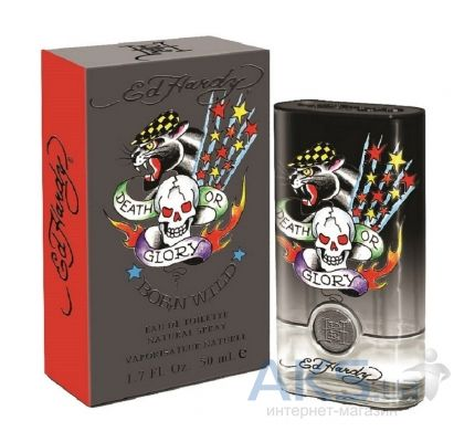 Christian Audigier Ed Hardy Born Wild for Him Туалетная вода 30 мл