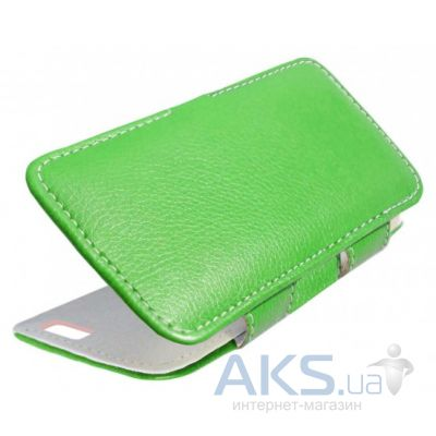 Чехол Sirius book case for Doogee X5 Green