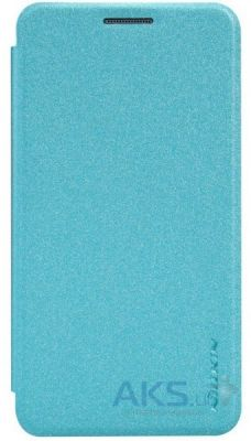 Чехол Nillkin Sparkle Leather Series Samsung A3/A300 Aqua