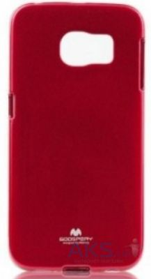 Чехол Mercury Jelly Color Series Samsung G925F Galaxy S6 Edge Red