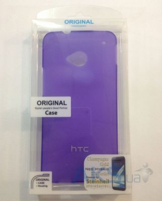 Чехол Celebrity TPU cover case for HTC 8X Accord C620e Purple
