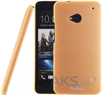 Чехол Yoobao Crystal Protect case for HTC One Orange (PCHTCONE-COG)