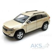 Автомодель Maisto (1:24) Jeep Grand Cherokee 2011 (31205) Gold