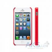 Вид 2 - Чехол JisonCase Fashion Wallet Case for iPhone 5/5S Red (JS-IP5-01H30)