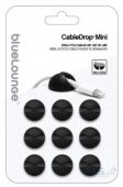 Bluelounge CableDrop Mini Small Cable Clip Black (CDM-BL)