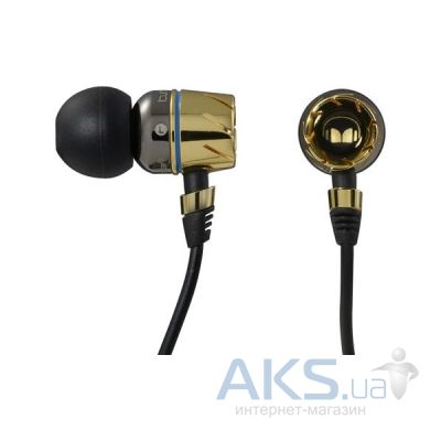 Наушники (гарнитура) Monster Turbine Pro Gold Audiophile In-Ear Speakers Gold (MNS-129394-00)