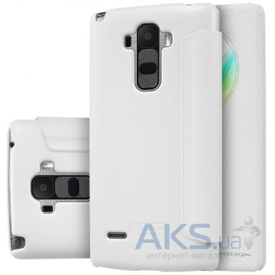 Чехол Nillkin Sparkle Leather Series LG Optimus G4 Stylus H630, H540 White