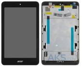 Дисплей для планшета Acer Iconia One 7 B1-750 + Touchscreen with frame Black