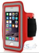 "Чехол Belkin Universal Sports Armband for iPhone 6/6S Red (4.5""-5"")"