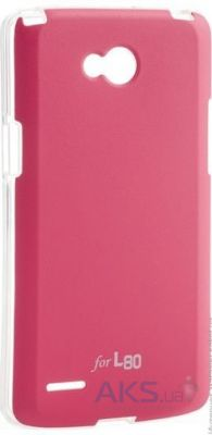 Чехол VOIA Jell Skin for LG Optimus L80 Dual (D380) Pink