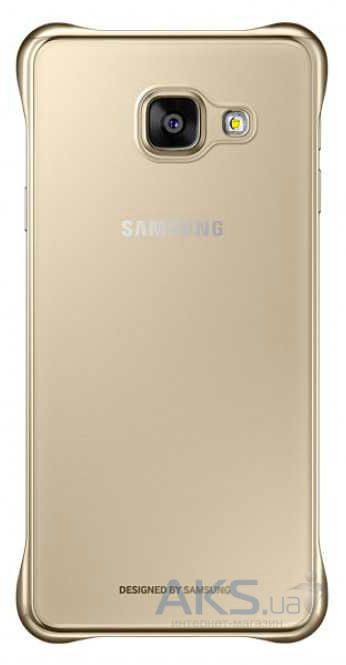 Чехол Samsung Clear Cover Series A310 Galaxy A3 2016 Gold (EF-QA310CFEGRU)