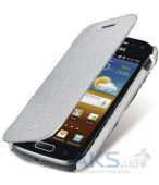Чехол Melkco Book leather case for Samsung i8160 Galaxy Ace II White (SSAC81LCFB2WELC)