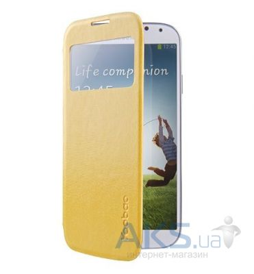 Чехол Yoobao Slim III Leather case for Samsung i9500 Galaxy S IV Yellow (LCSAMS4-SIIIYL)