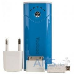 Внешний аккумулятор Yoobao Power Bank 5200 mAh Bright Moon YB-622, [PBYB622-BL] Blue