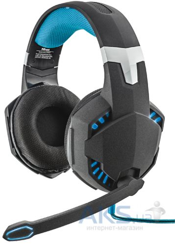 Наушники (гарнитура) Trust GXT 363 7.1 Bass Vibration Headset Black