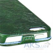 Вид 2 - Чехол TETDED Nature Leather Series Apple iPhone 5, iPhone 5S, iPhone SE Lawn Green