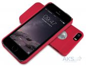Вид 3 - Чехол Nillkin Super Frosted Shield Apple iPhone 5, iPhone 5S, iPhone SE Red